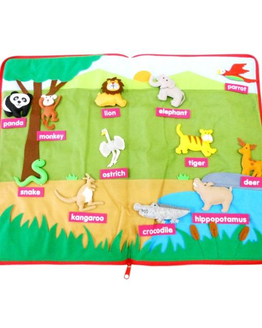 动物世界——台湾蒙特梭利教具厂